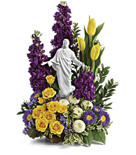 Sacred Grace by Teleflora - Deluxe