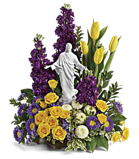 Sacred Grace by Teleflora - Premium