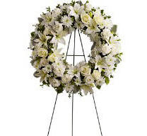 Serenity Wreath from Teleflora