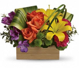 Teleflora's Shades Of Brilliance Bouquet - Standard