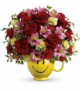 So Happy You're Mine Bouquet by Teleflora - Deluxe