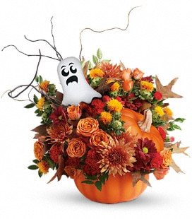 Teleflora's Spooky Surprise Bouquet - Deluxe