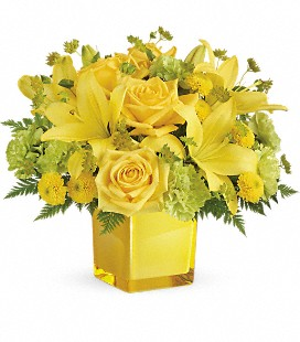 Teleflora's Sunny Mood Bouquet - Deluxe