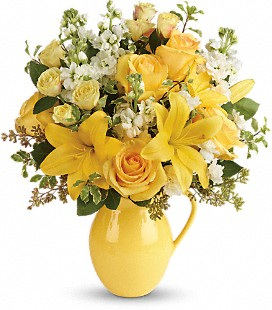 Teleflora's Sunny Outlook Bouquet - Deluxe