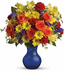 Teleflora's Three Cheers for You! - Deluxe