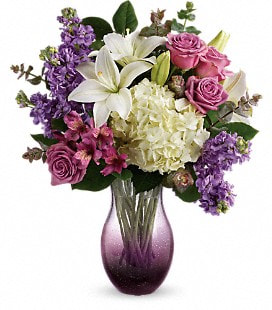 Teleflora's True Treasure Bouquet - Deluxe