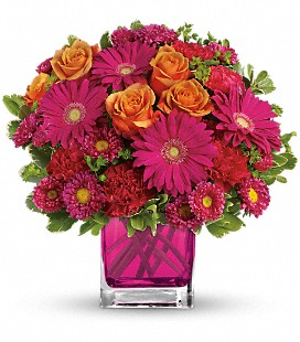 Teleflora's Turn Up The Pink - Premium