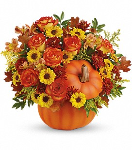 Teleflora's Warm Fall Wishes - Deluxe