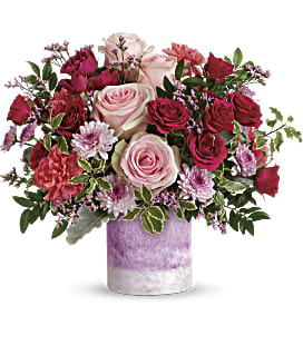 Teleflora's Washed In Pink Bouquet - Premium
