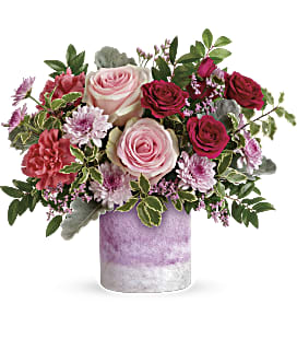 Teleflora's Washed In Pink Bouquet - Standard