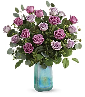 Teleflora's Watercolor Roses Bouquet - Deluxe