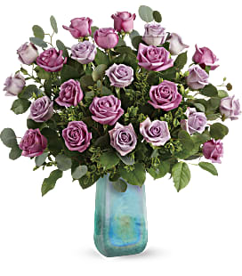 Teleflora's Watercolor Roses Bouquet - Premium