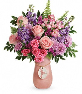 Teleflora's Winged Beauty Bouquet - Deluxe