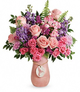 Teleflora's Winged Beauty Bouquet - Premium