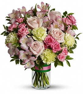 Teleflora's Wonderful You Bouquet - Deluxe