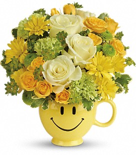 Teleflora's You Make Me Smile Bouquet - Deluxe