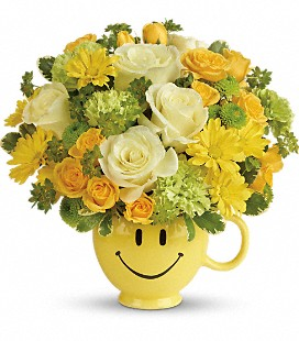 Teleflora's You Make Me Smile Bouquet - Premium